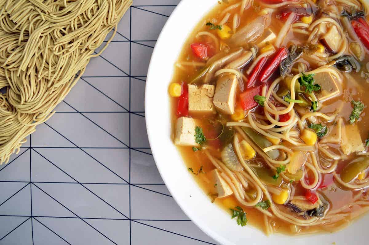 Hot and Sour Veg Soup