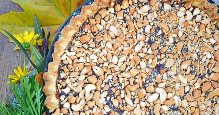 Caramel Pie with Cashews – Vegan & No-Added Sugar