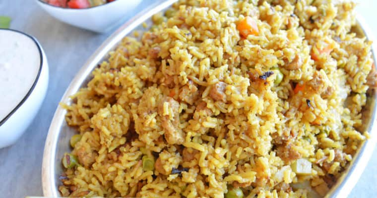 Easy One-Pot Vegetable Biryani