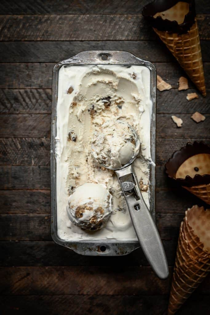Vegan Cookie Dough Ice Cream