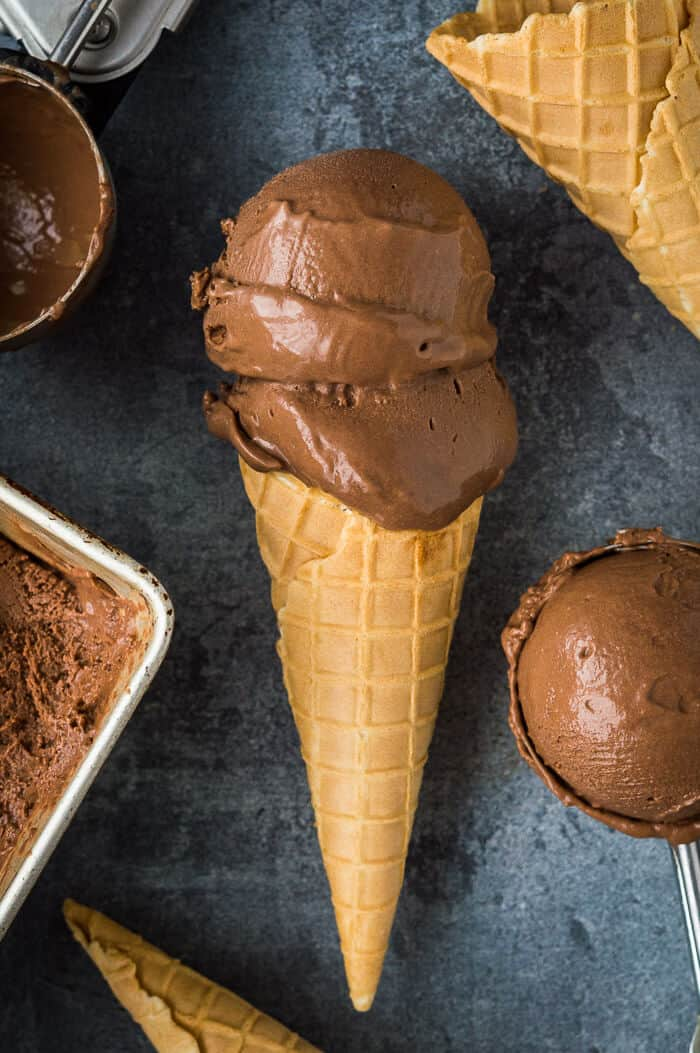 Rich And Creamy Vegan Chocolate Ice Cream
