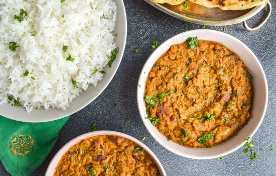 Easy vegan Dal Makhani