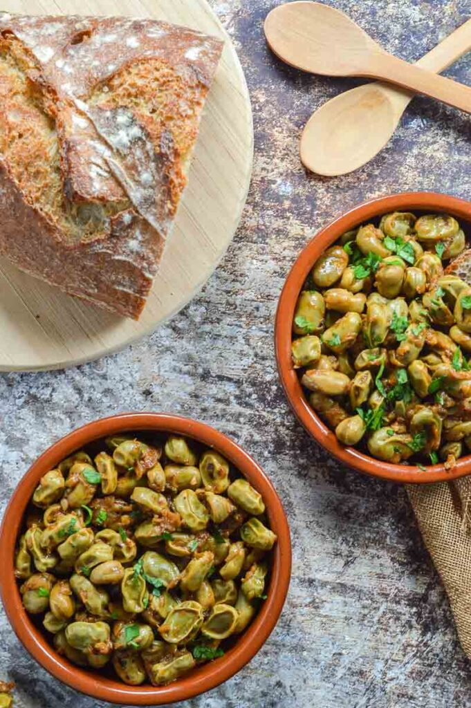 Bread and broadbeans